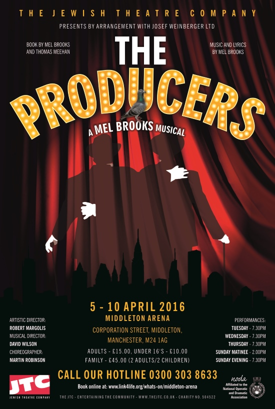 JTC The Producers advert web